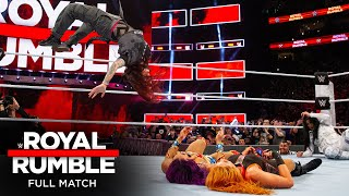 FULL MATCH - 2018 Women's Royal Rumble Match: Royal Rumble 2018
