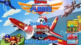 Frantic Planes Walkthrough