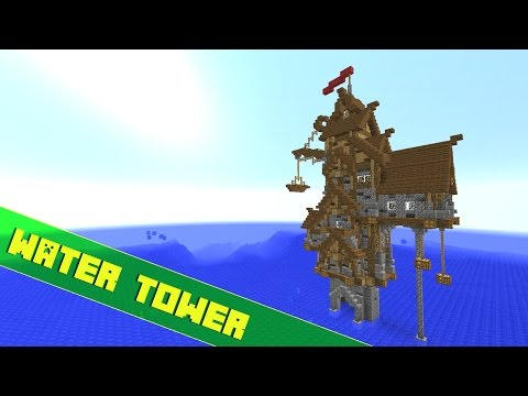 ✔ Minecraft How To Build A Offshore Tower/House Tutorial - Part 1