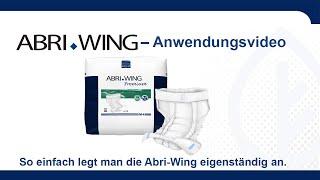 Produktvideo zu Abena  Abri-Wing Premium Inkontinenzwindelhose Saugstärke 1