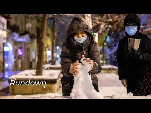 Jerusalem Celebrates First Snowfall In Six Years