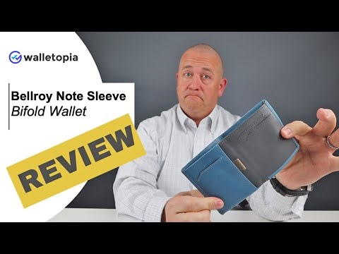 Bellroy Balances It Again With The Bellroy Note Sleeve Bifold Wallet!