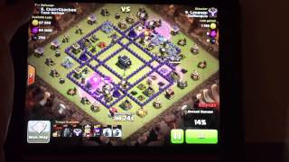 Clash of Clans: lavaloon fireworks spectacular