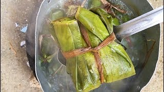 EAT OR PASS? HOW TO MAKE BLUE DRAWERS  TIE A LEAF  DUKUNOO