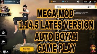 CHEAT FREE FIRE | VVIP CHEAT GAMEPLAY MOD ANTI BANNED DEVICE