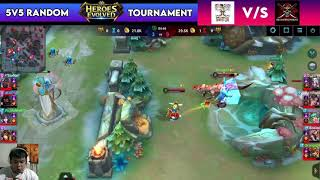 HEROES EVOLVED TOURNAMENT 2021 | STRAWHATS VS RED HAIRED GAME 2 screenshot 3