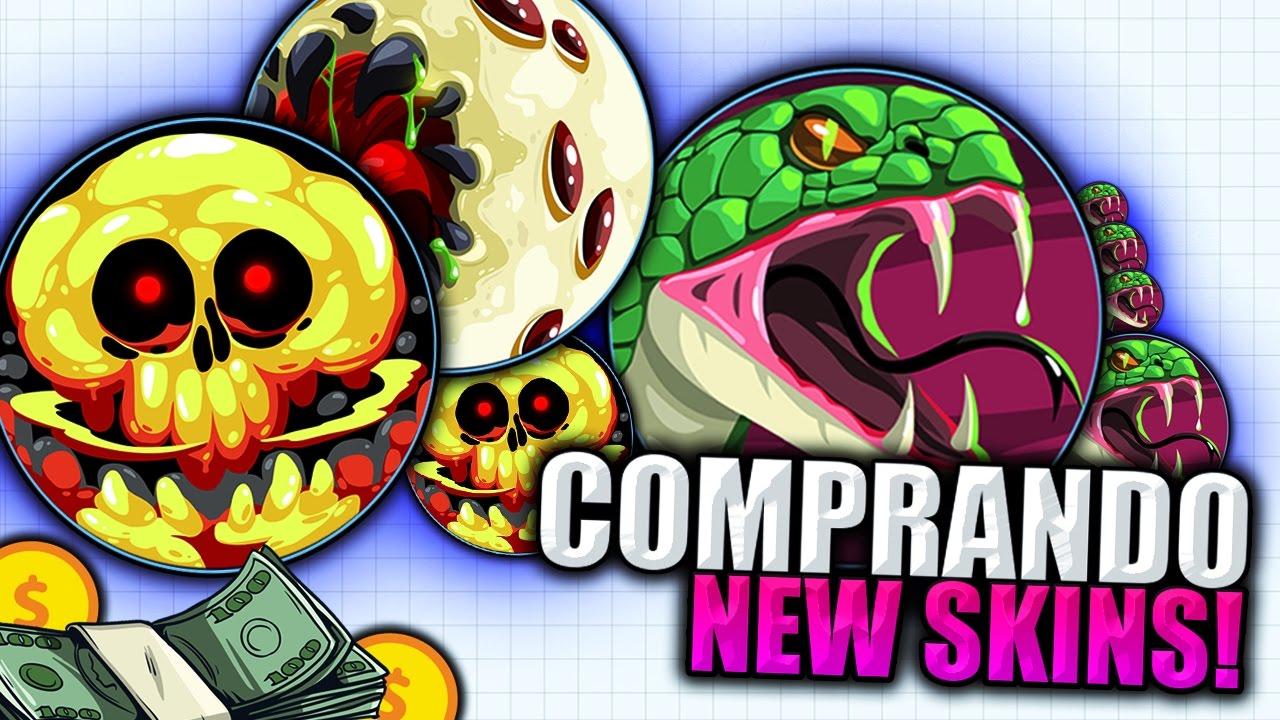 NEW AGARIO SKINS UPDATE! Agar.io Gameplay // TYT - YouTube