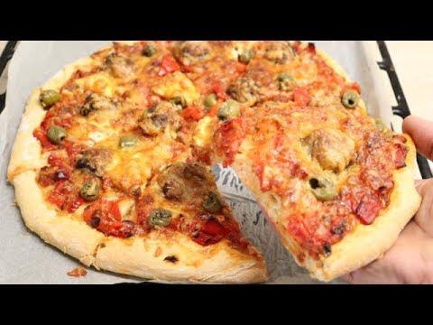 pizza-au-keftas-facile-(cuisinerapide)