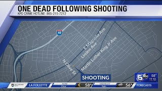 1 Dead From Knoxville Shooting