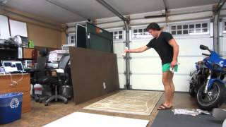 Diy: Giant Whiteboard 8'x4'