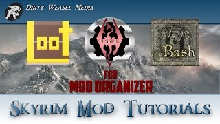 Loot And Tes5edit For Mod Organizer Installation Tutorial