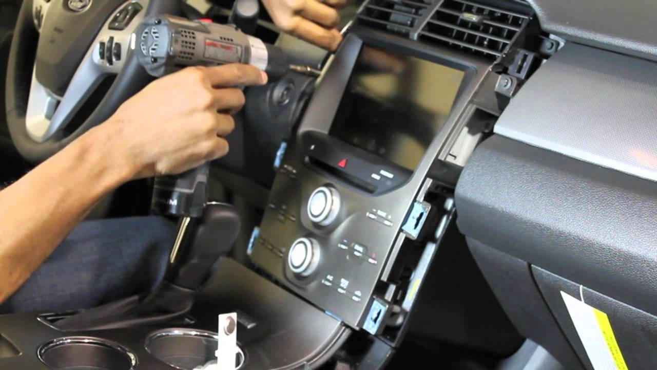 2013 Ford Edge Touch Screen Removal  YouTube