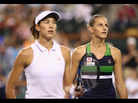 2017 BNP Paribas Open Quarterfinals | Karolina Pliskova vs Garbine Muguruza | WTA Highlights