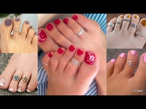 Latest Stylish Toe Rings Designs - Trendy Toe Rings