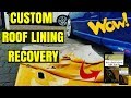 FPV CUSTOM EMBOSSED ROOF LINING | Ford Falcon AU BA BF FG Xr6 Turbo Xr8 GT Headliner Repair