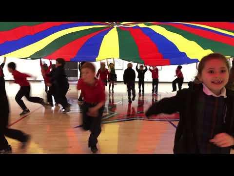 1st Grade GPD 2018 Parachute Routine