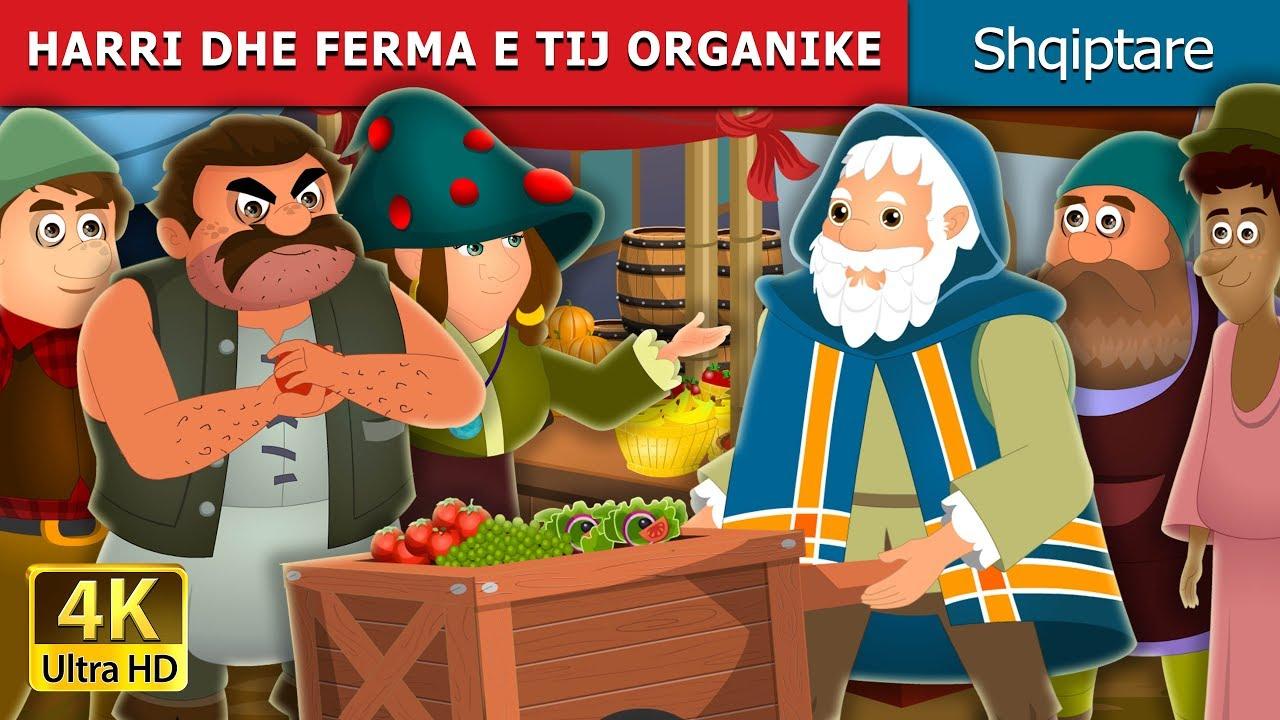 HARRI DHE FERMA E TIJ ORGANIKE | Harris and His Organic Farm Story | Perralla Shqip