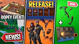 *NEW* Trap and Bow, Leaked Live Event, Lava Legends Release, ALL Map Changes, Leaks! (Fortnite News)