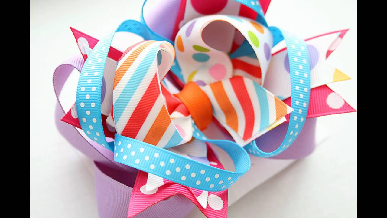 stacked hairbow design ideas follow