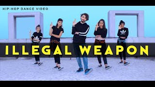 ILLEGAL WEAPON DANCE VIDEO | Vicky Patel Choreography | Hip-Hop | Jasmine Sandlas Punjabi Song