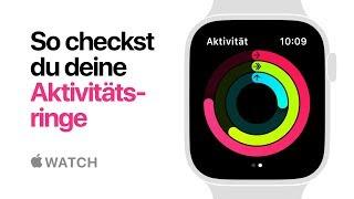 AppleWatch Series4 – So checkst du deine Aktivitätsringe – Apple