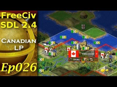 FreeCiv 2.4.0 [SDL Client] Canadian LP - Ep026