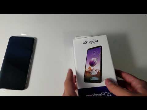 LG Stylo 4 Unboxing (Metro PCS)