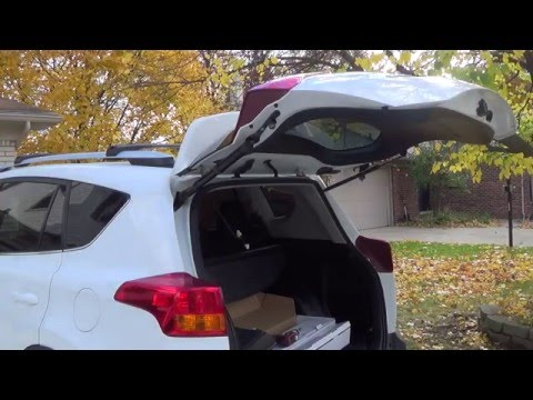 2015 Toyota RAV4 LE Power Liftgate Installation