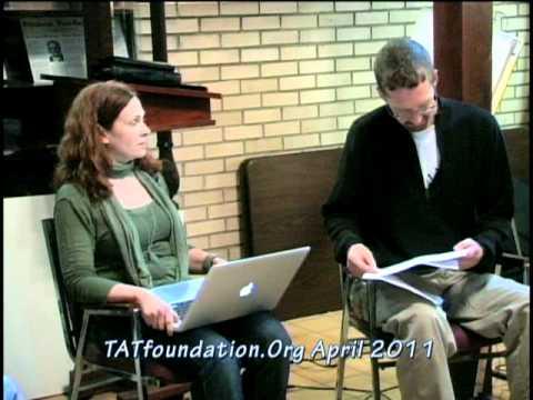 Shawn Nevins and Deborah Westmoreland Reading Poetry at TAT