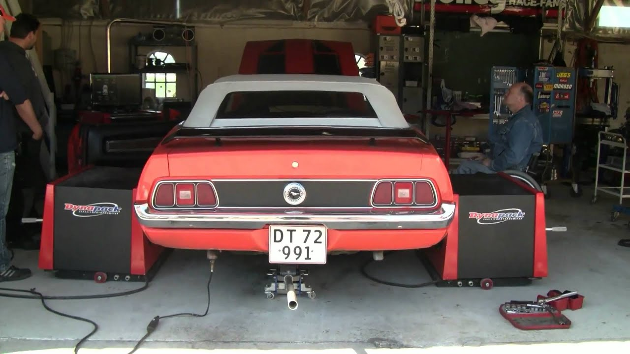 72 mustang cab dynapack 4000 test