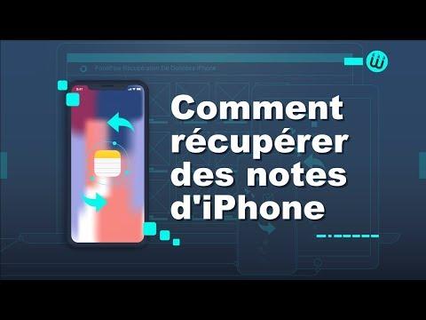 Comment Récupérer Des Notes De L'iPhone ?