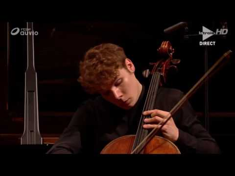 Bruno Philippe - Poulenc Cello and Piano Sonata - Queen Elisabeth Competition 2017