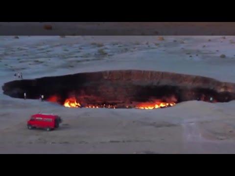The door to Hell (Darvaza Crater)