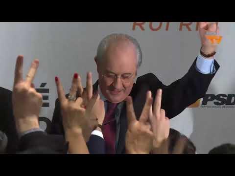 Eleições Diretas PSD - Declarações de Rui Rio