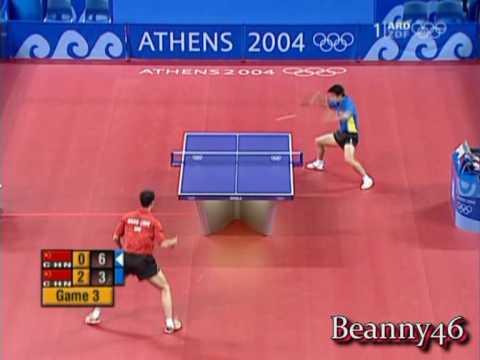 Wang Hao vs Wang Liqin (2004 Olympics)