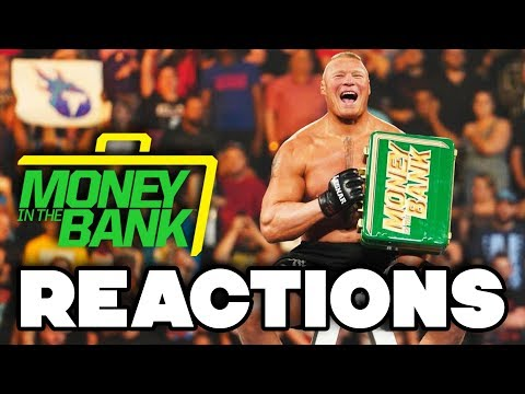 WWE Money In The Bank 2019 Reactions