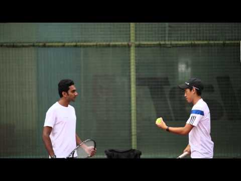 Lesson with Tennis Coach - Donald Tay