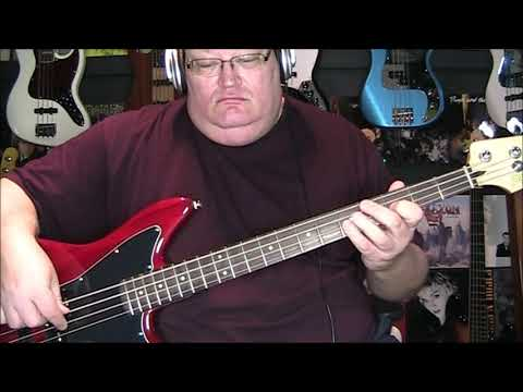 Benny Mardones Into The Night Bass Cover with Notes & Tab