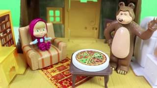 Maşa Toybox ve Kinder Joy Açıyor - Maşa ile Koca Ayı Oyuncakları