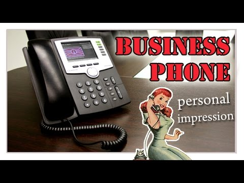 Business phone - personal impression of best business ...
