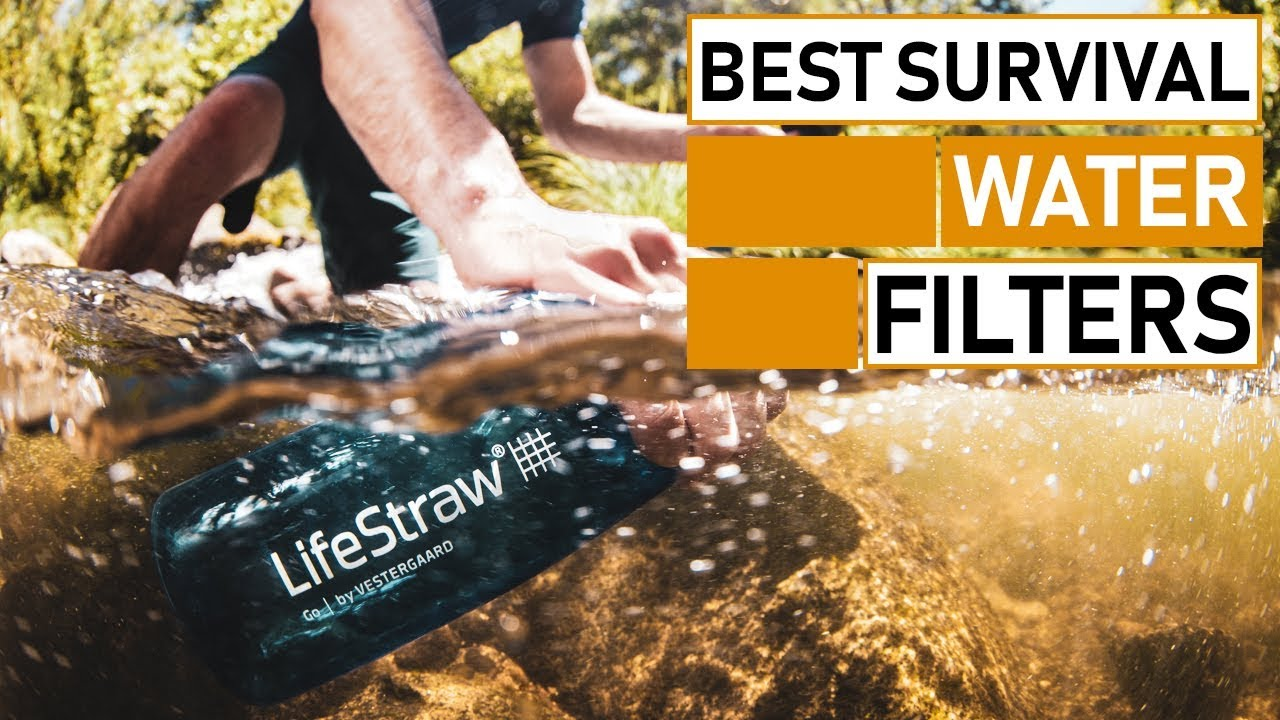 Top 5 Best Portable Water Filters for Backpacking & Survival