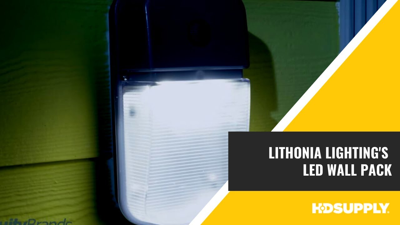 Lithonia Lighting S Led Wall Pack Hd Supply Facilities Maintenance You