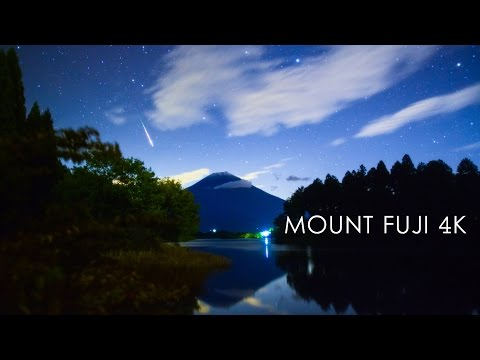 MOUNT FUJI 4K - TimeLapse