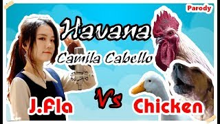 Camila Cabello - Havana | J.Fla Vs Chicken Cover ( Chicken Version )