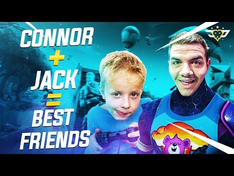 CONNOR + JACK = BEST FRIENDS - The Coolest Kid Ever! (Fortni