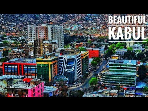 This is Kabul City in 4K | Kabul City Beautiful Places