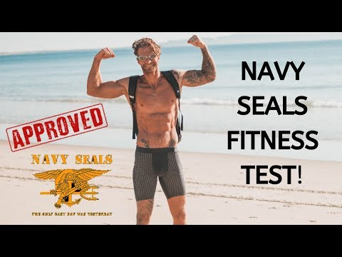 Doing The NAVY SEALS Fitness Test Without Practice