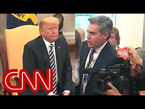 White House aide yells at CNN's Jim Acosta