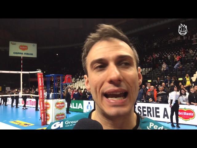 Max Colaci commenta il 3 a 0 con Modena