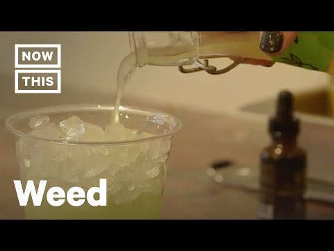 CBD-Infused Drinks Are Served at This Coffee Shop in NYC | NowThis